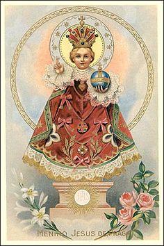 Infant Jesus of Prague - Patron of Good Health
