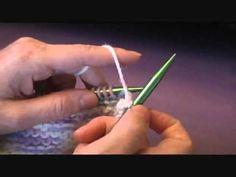 Continental Knitting (Purl Stitch)