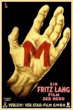 M 1931 Poster Peter Lorre in M (Fritz Lang, 1931)   cinema   Pinterest   Peter Lorre ...