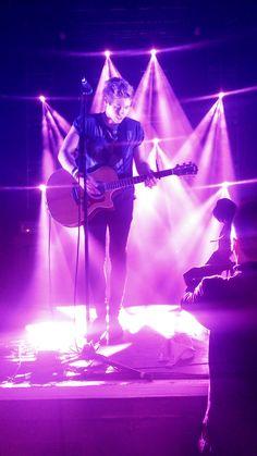 Luke during Wherever You Are  koko show