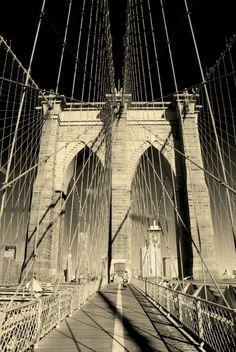New York City Brooklyn Bridge - CHECK