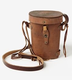 Leather Binocular Case by Waltzing Matilda USA on Scoutmob