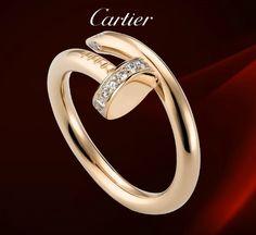 Cartier Juste Un Clou Ring Diamonds  $ 45.99