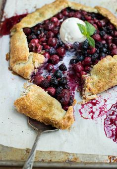 Mixed Berry Galette | Recipe from Wildgreens and Sardines