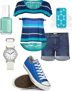 Cute outfit,great for spring and summer time.