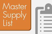 Master Supply List