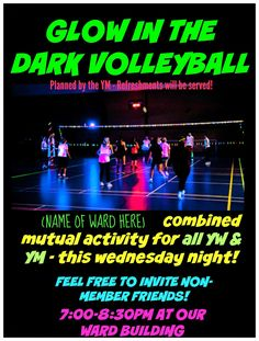 GLOW IN THE DARK VOLLEYBALL (QUICK IDEA SERIES) 2 OF 4