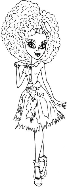 howleen 13 wishes coloring pages - photo#16