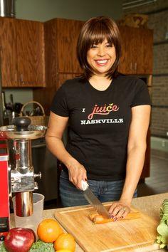Stephanie Waring of Juice Nashville. Foodie and woman entrepreneur
