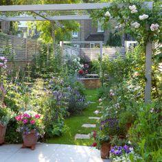 Informal planting designs on pinterest garden photos for Informal garden designs