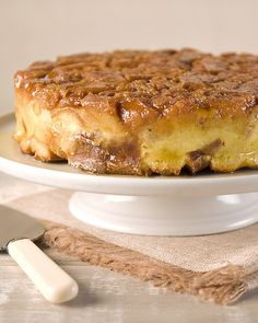 Bread Pudding - Martha Stewart Recipes ~~ This four-star caramel bread ...