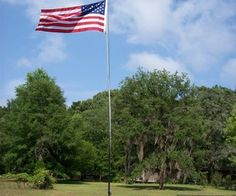 how to make a pvc flag pole