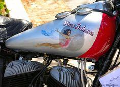 Image Detail for - Sexy Girls & Vintage Motorcycle Indian Tank Art
