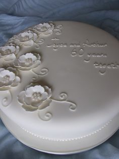 60th Anniversary Cake by cakes-by-kerry, via Flickr