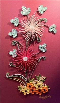Canan's quilling