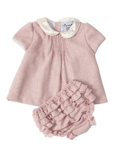 What a sweet pink tweet outfit with ruffle bloomers for baby girls from @Busy Bees #Pnapproved