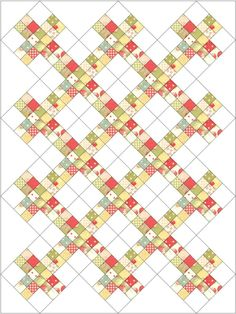 On point quilts on pinterest nine patch quilt and quilt patterns