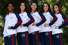 :: USA Gymnastics :: USA Gymnastics announces women's gymnastics team for 2012 Olympic Games ::