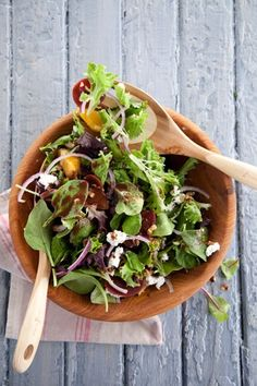 Roasted Beet Salad with Cocoa Vinaigrette
