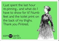 Thanks, Pinterest!