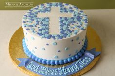 Baptism Cross Cakes for Girls | Lick Your Lips Cakes: Baptism Cake ...