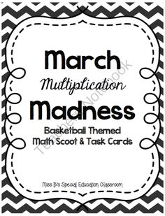 ... 20 pages) - Multiplication Math Scoot Multiplication Math Task Cards