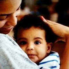 Beyounce & baby Blue Ivy