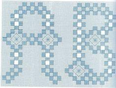 Alfabetos em Hardanger ( 5 tipos) - ANA - Picasa Web Album