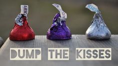 Dump the Kisses similar to Capture the Flag. Get your team's kisses in the other team's bucket