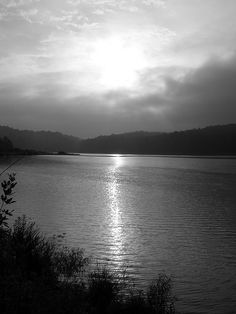 Reservoir in Dahlonega, Georgia
