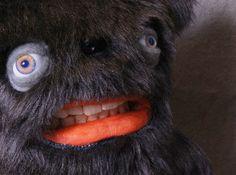 Teddy Bear with teeth Decorative Doll by UncannyCreatures
