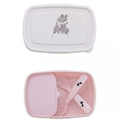 lunch box Ours rose