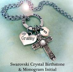 Hey, I found this really awesome Etsy listing at https://www.etsy.com/listing/264795160/grammy-birthstone-necklace-faith