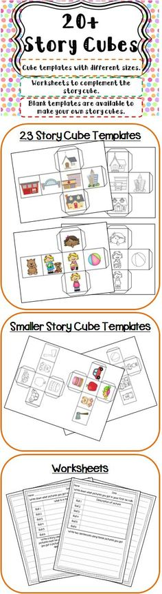 Story Cubes. Visit my blog and facebook page for freebies, tips and new product updates: rollerenglish.blogspot.com https://www.facebook.com/rollerenglish