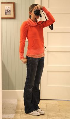 what i wore //casual: evy's tree lizzy zip up, jeans, converse