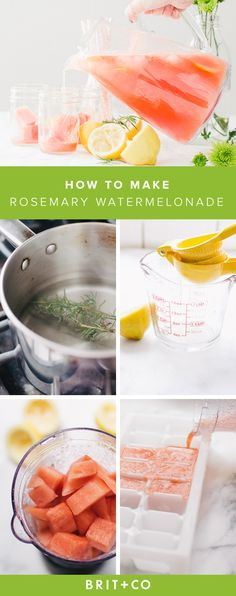 Rosemary Watermelonade? Yes, please!