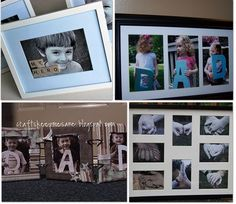 #Father's Day Homemade Gifts #picture #frames