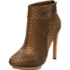 Ankle boots of the season! Following the snakeskin trend. Follow me on.fb.me/Po8uIh
