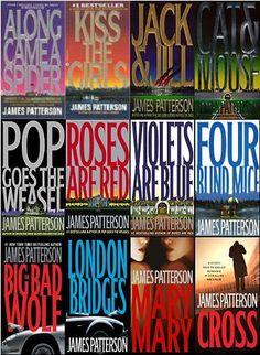 James Patterson  - Alex Cross series.