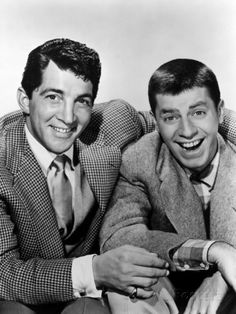 dean martin and jerry lewis   Dean Martin and Jerry Lewis, Late 1940s-Early 1950s Premium Poster