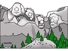 patriotic coloring pages mount rushmore - photo#15