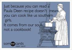 AMEN!! Thanks god for Southern girls!