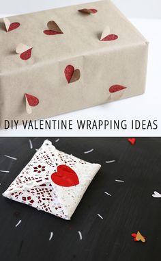 10 DIY Valentine Wrapping Ideas