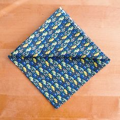 CLEARANCE Pocket Square Formal Handkerchief by MadAboutHankies