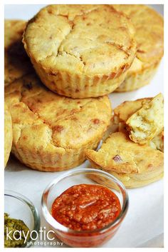 Potato & Bacon Muffins