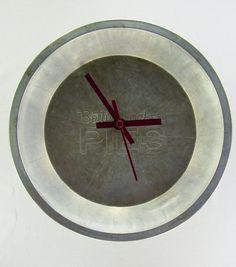 Upcycled Vintage Betty Crocker Pie Pan Clock