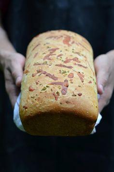 Cheddar-Sriracha Swirl Bread | Recipe | Cheddar, Swirls and Breads