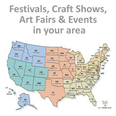 Fairs and Festivals Vendor Calendar and Ebook - Find Festivals, Craft Shows, Art Fairs and Events