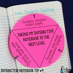 Interactive Science Notebook Tips: Including Student Ideas