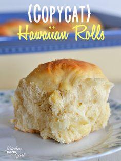 Copycat recipe - Kings Hawaiian Rolls